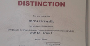 News from London College of Music ! Road to Drum Kit Diplomas