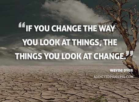 Change Your Thoughts, Change Your Life.