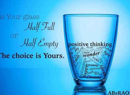 Are you a glass-half-empty kind of person?