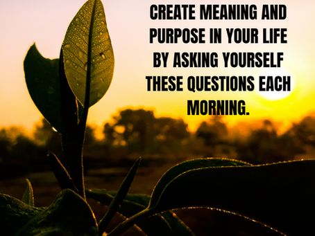 Want to Start Your Day Off With Purpose and Positivity?