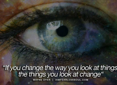 Change the way you look at challenges