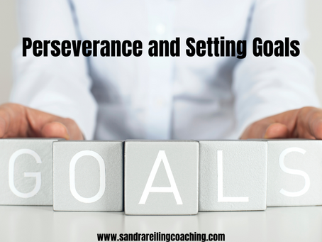 Perseverance and Setting Goals