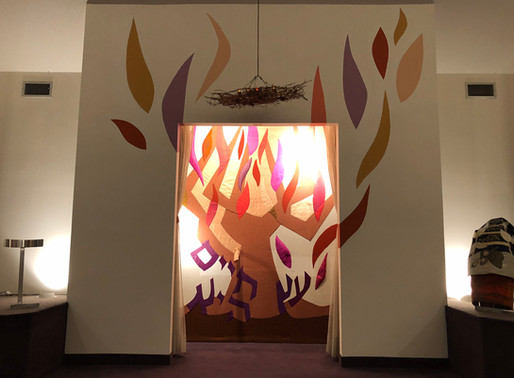 It is a Tree of Life ... Our last Shabbat in Washington Township.