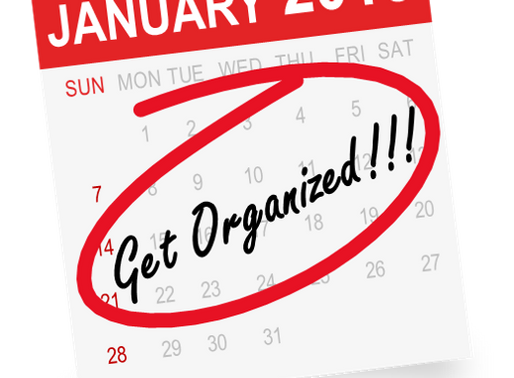 Organization - The Solution for your Resolution