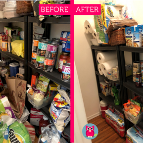 A Virtual Organizing Before & After
