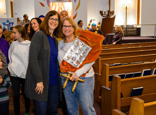 Our First Simchat Torah Together