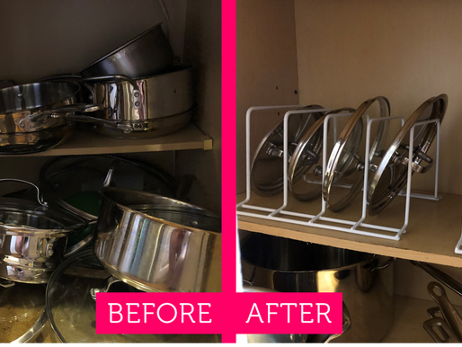 Pantry, Closets, and Lids, Oh My!