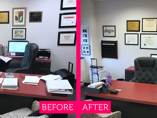 Saving time and money with a better-organized workspace.