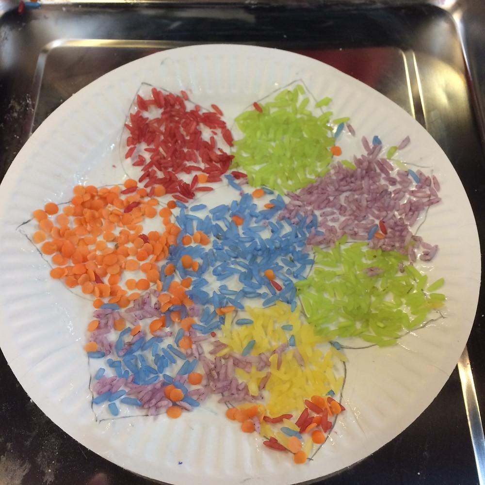 kids rice design