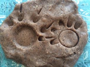 Muddy playdough recipe