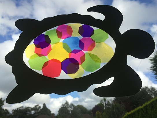 sun catcher turtle