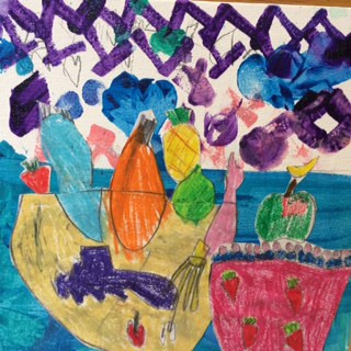 Matisse inspired still life
