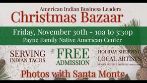 Nov 30-AIBL Christmas Bazaar