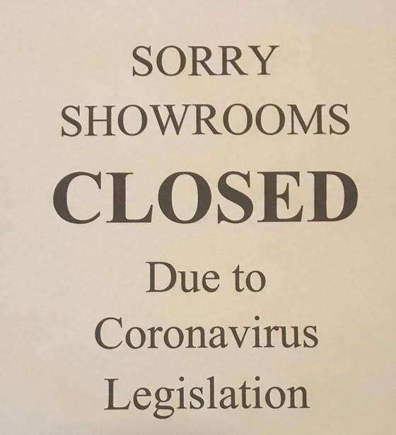 SHOWROOM CLOSURE