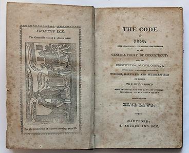 Book, Code of 1650