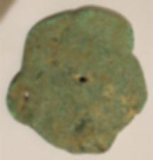 Piece of Beaten Copper