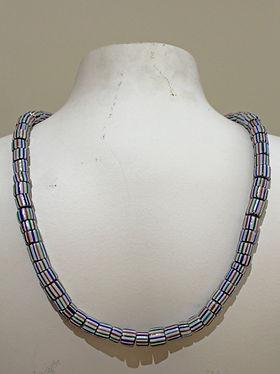 Chevron Striped Trade Beads