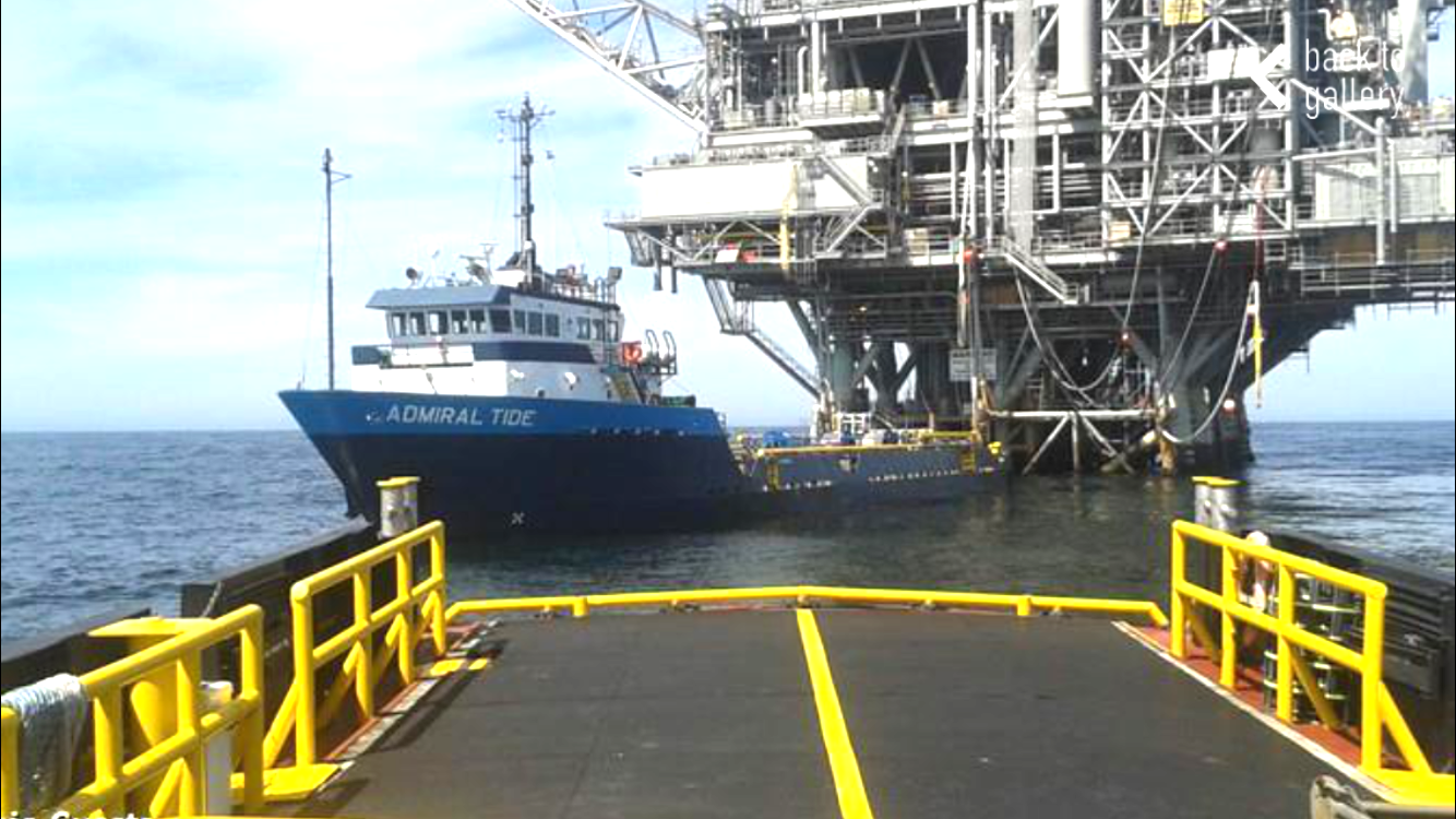 Offshore Oil Supply Vessels and Platforms