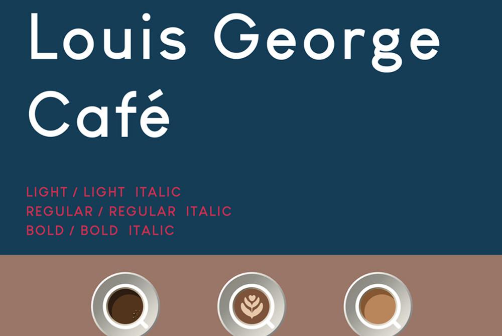 Louis George Cafe free sans serif font