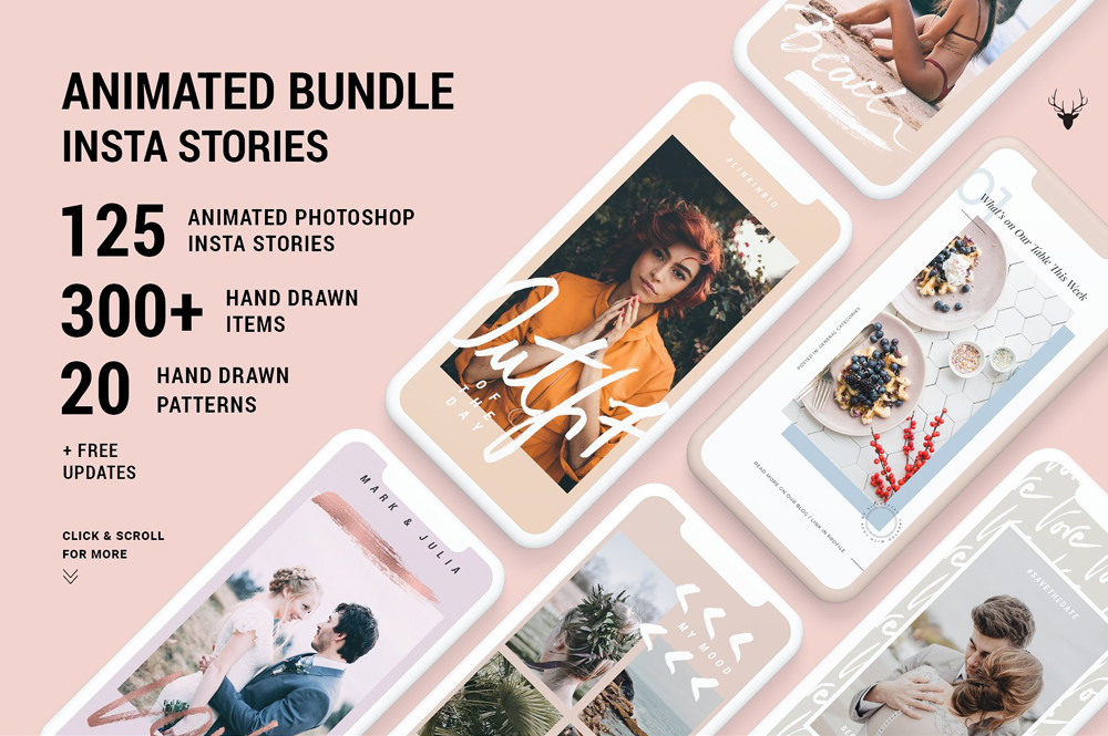 Animated Bundle Insta Stories