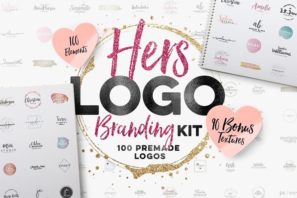 Hers Logo Branding Kit
