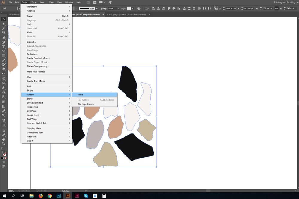 Pattern > Make