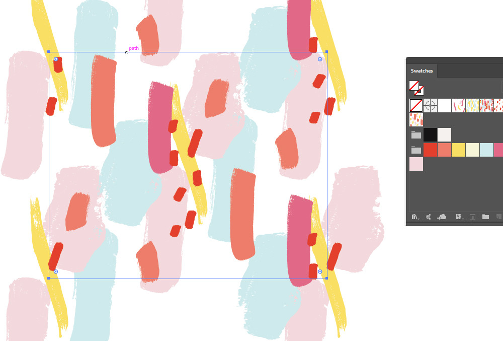 How to extract one pattern tile from an Adobe Illustrator pattern swatch