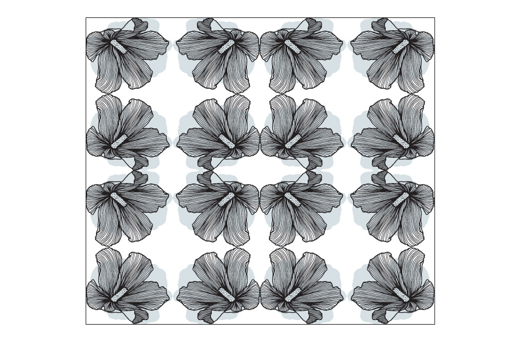Lineart Floral Patterns