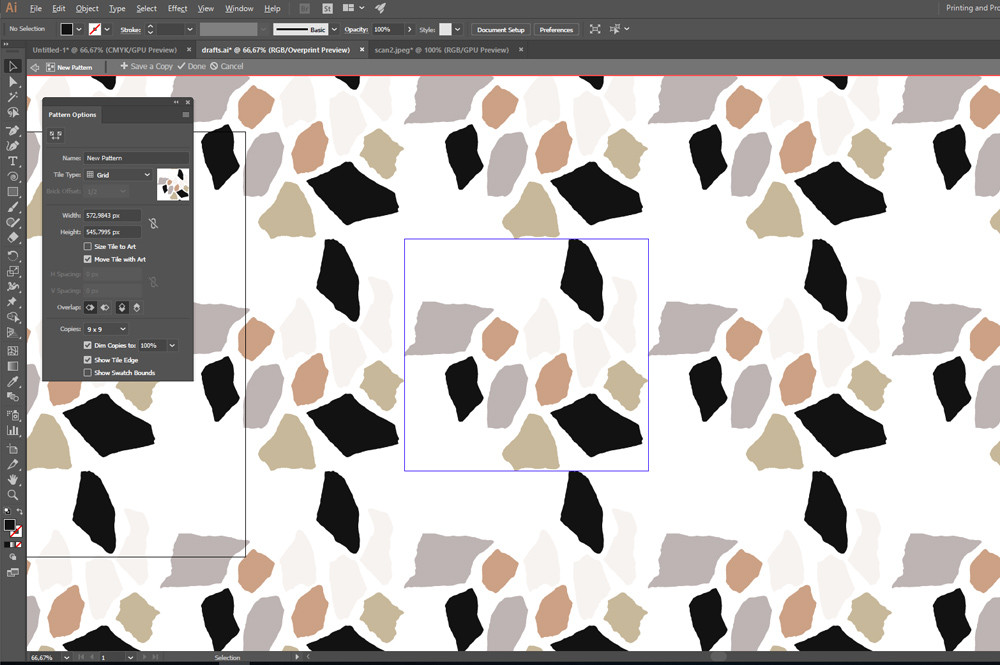 Pattern Edit Mode