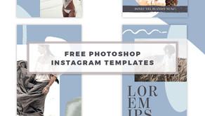 Free Photoshop Instagram Templates