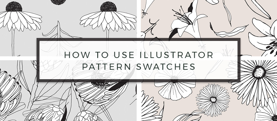 Simple Instructions of using Adobe Illustrator Pattern Swatches