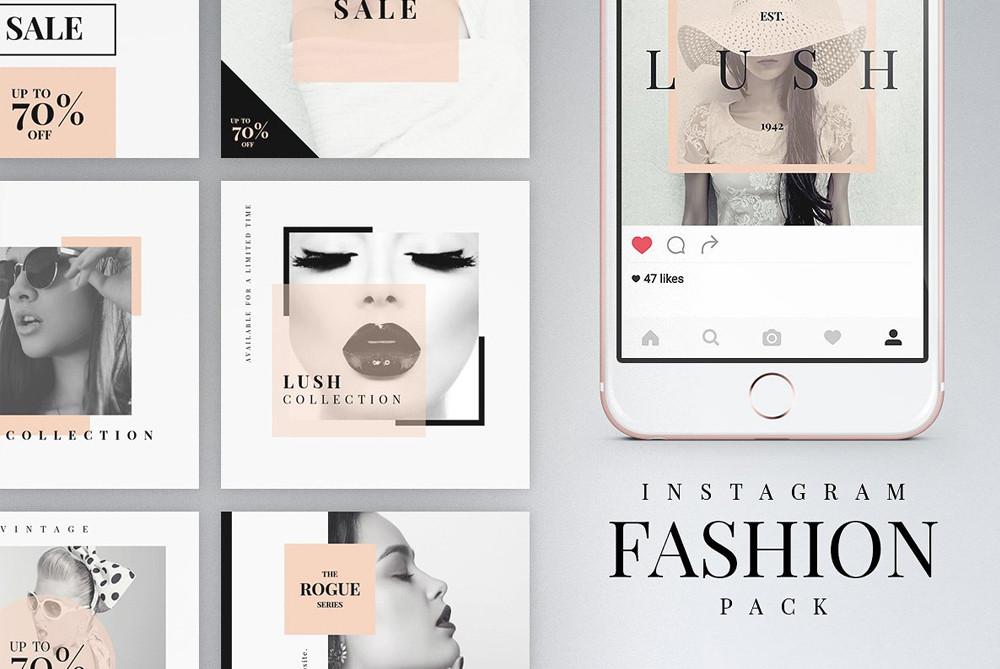 Instagram Posts Fashion Pack