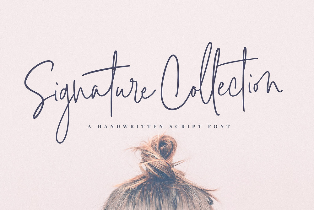Signature Collection Script font by Nicky Laatz