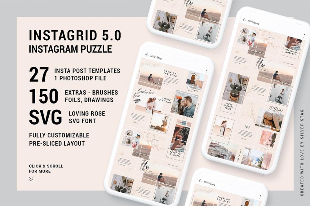 InstaGrid 5.0 - Instagram Puzzle