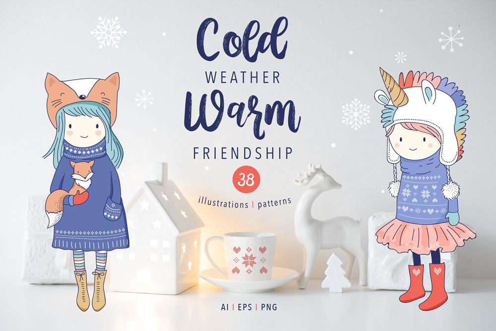 Cold weather Warm Friendship