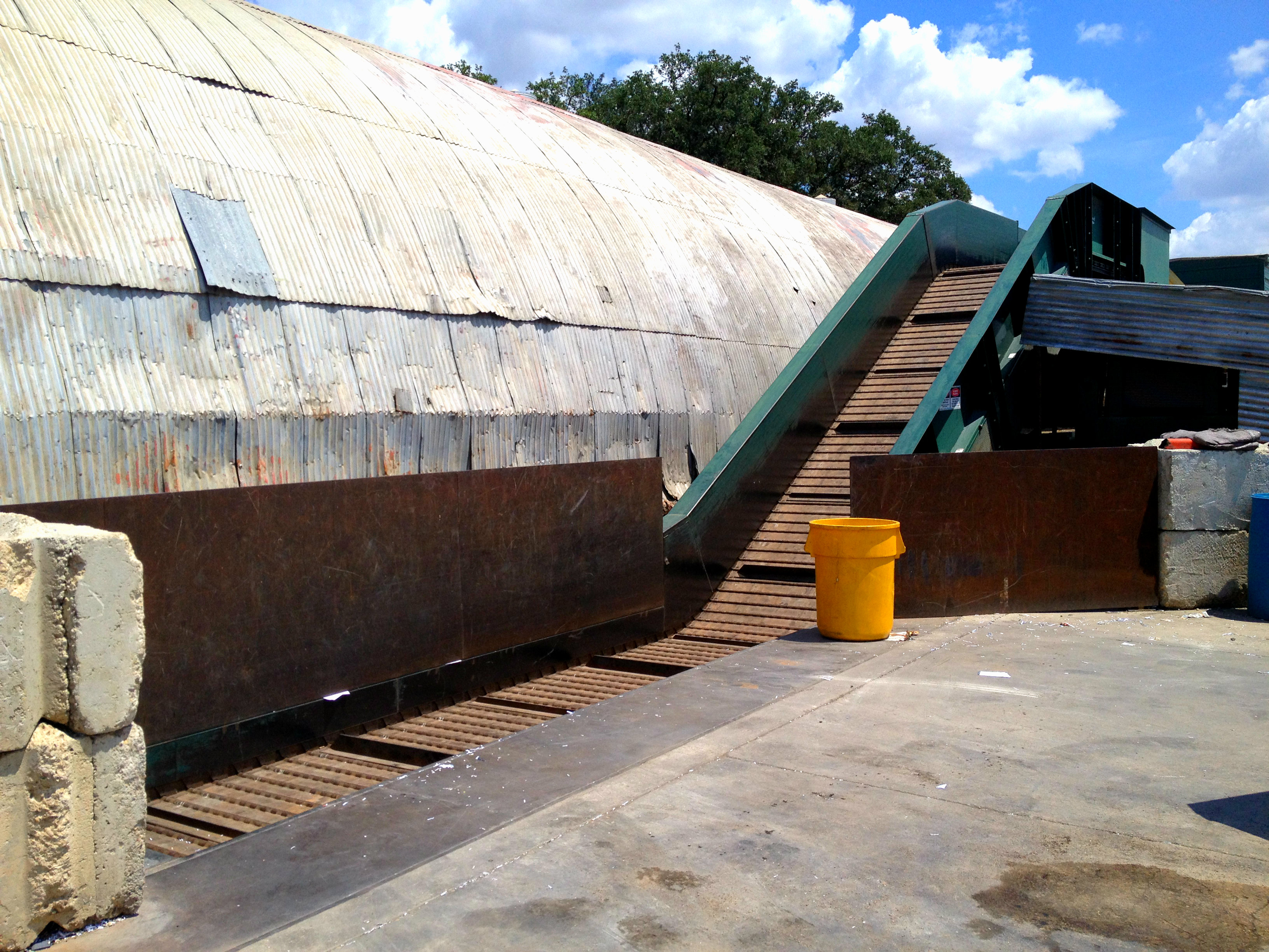 IBC Baler Conveyor Belt
