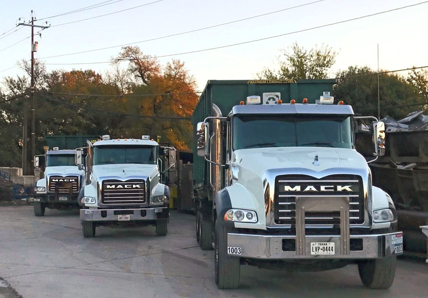Mack Roll Off Trucks