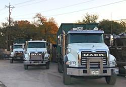 Mack Roll Off Trucks