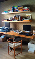 desk shelving combo