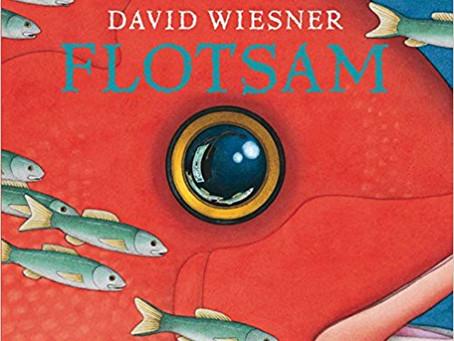 Creative Literacy lesson ideas using 'Flotsam' by David Wiesner