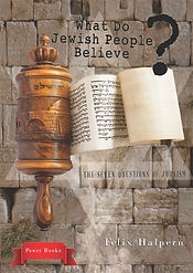 What Do Jewish People Believe book cover