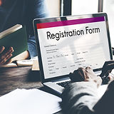 Registration Application Paper Form Conc