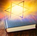 Star of David .  Prayer Book with Judais