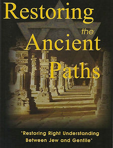 Restoring the Ancient Paths book cover