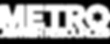 High Rez Metro Logo White.png