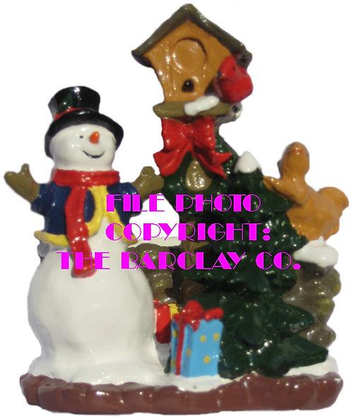 #4148 - Frosty & Friends