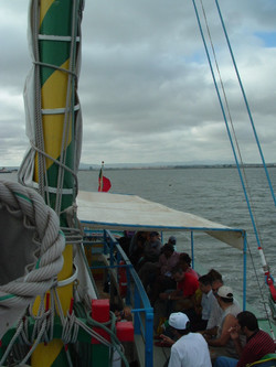 Passeio de Barco Varino