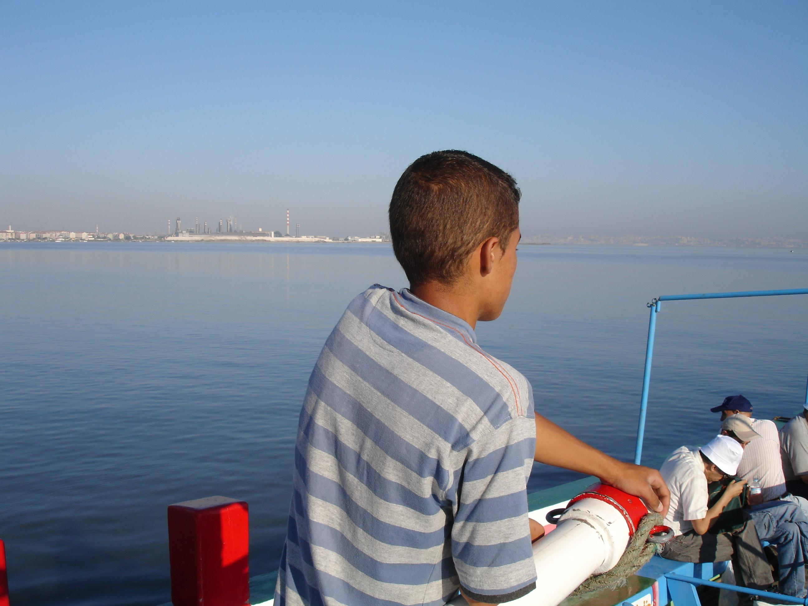 Passeio do barco varino - CM Moita