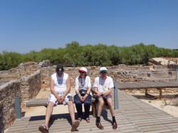 Passeio às ruínas de Tróia