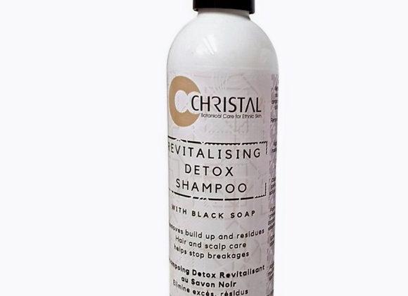 Revitalising Detox Shampoo with Black soap
